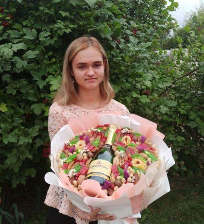 Свадебный букет падарок на свадьбу