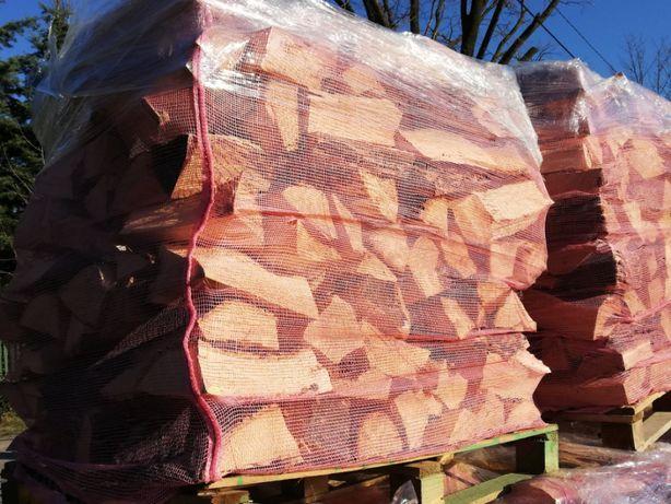 Drewno kominkowe i opałowe paletowane osika