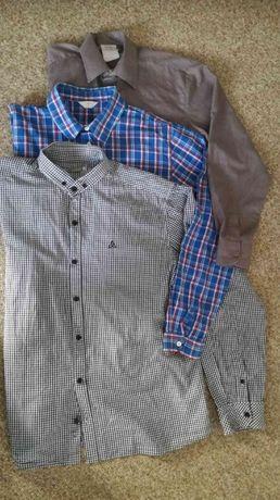 Koszula koszule z długim rękawem młodzieżowe męskie