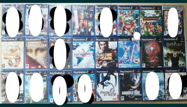 Ps2 vários, Sims, Spiderman, Sonic
