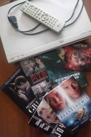Dvd lg+ płyty filmy+ Gratis the last ride z autografem