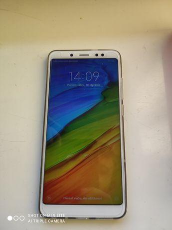 Xiaomi redmi note 5 4/64 GB Ram Komplet Okazja Niebieski Blue Etui do