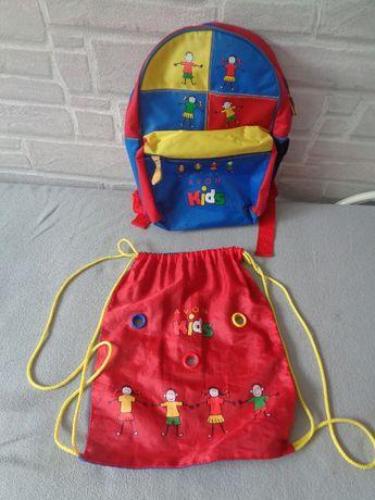 Plecak dla przedszkolaka+ worek AVON