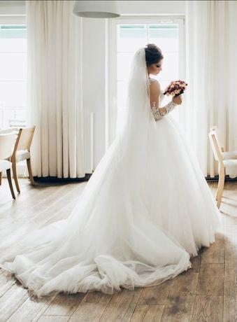 Розкішне весільне плаття, свадебное платье