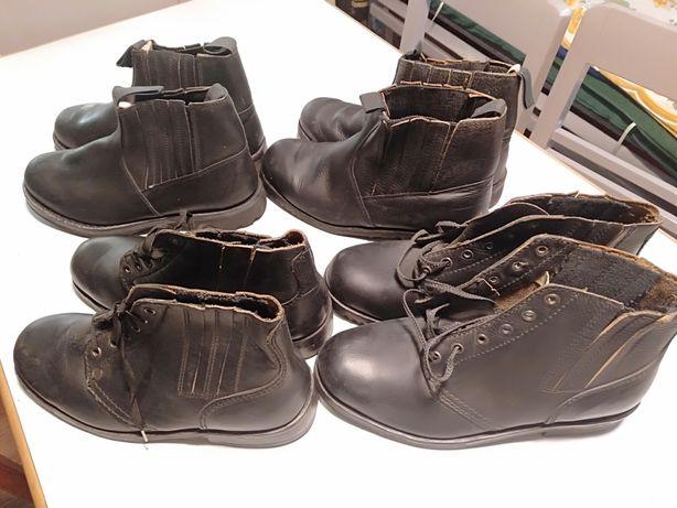 Buty skórzane z PRL