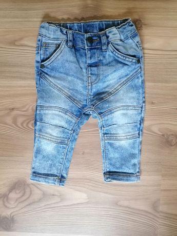Spodnie chłopięce rozm 74