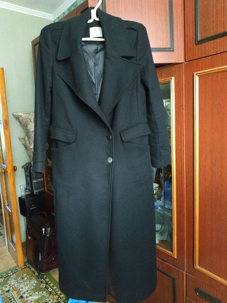 Пальто шерстяное теплое ASOS