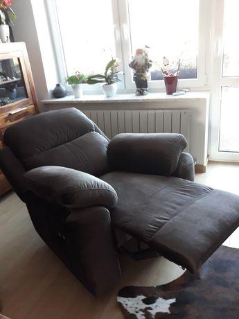 Fotel relax elektryczny rozkładany