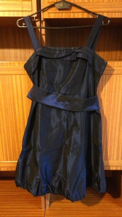Granatowa sukienka Gać - image 1