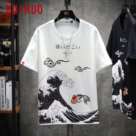 Мужская футболка в стиле хип-хоп | Новая