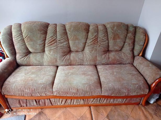 Oddam za darmo kanapa łóżko trzy osobowa