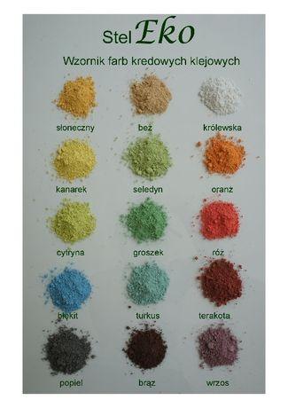 Farba Kredowa Farba Klejowa Sucha 2 kg.