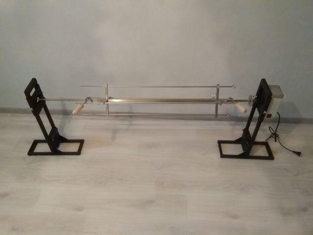 Вертел 25 кг. на мангал с подставками на землю