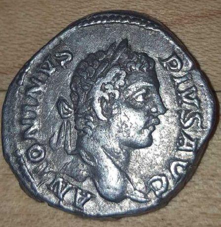 Denar , 206 Cesarstwo Rzymskie- KARAKALLA 198- 217