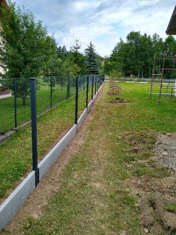Panel h123 fi 4 ogrodzenie panelowe 59,41zł/mb PIWNICZNA ZDRÓJ