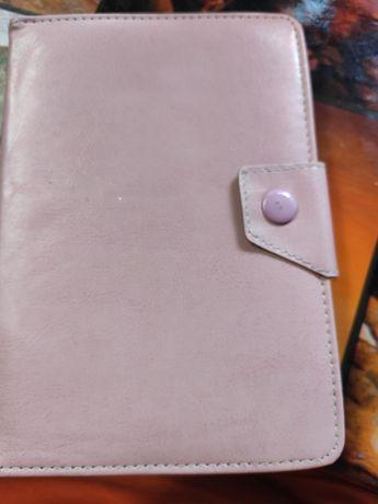 Кожаный чехол на планшет 20.5*14.5 см