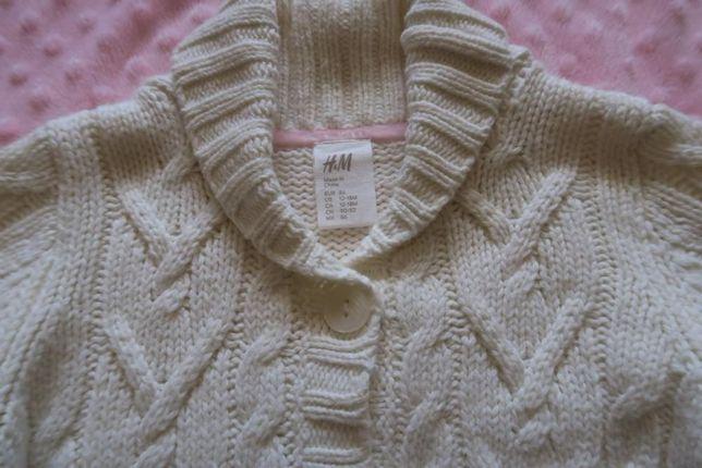 sweter dla dziewczynki H&M rozm 86