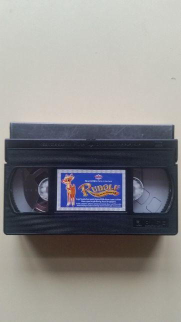 Kaseta VHS Rudolf Czerwononosy Renifer