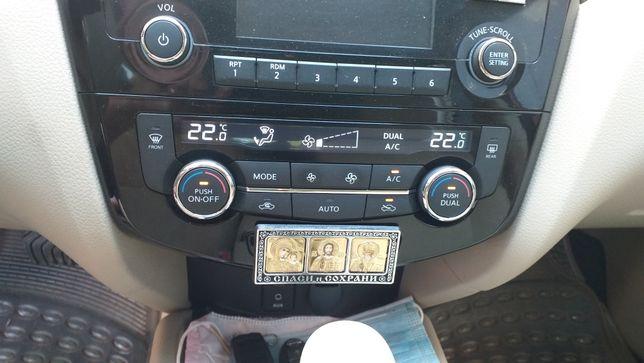 Русификация приборной панели, климат контроля Nissan Rogue T-32. .