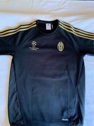 Adidas Juventus 15/16 Black Gold Blusa Liga dos Campeões Xl