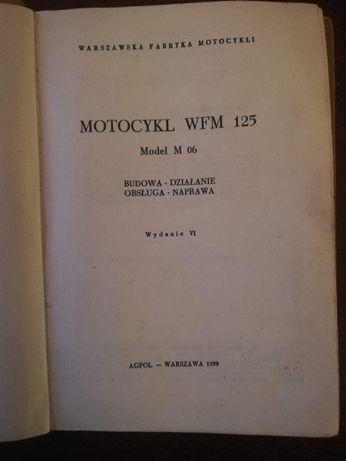 Ksiazka WFM 125 wydanie 6    1959r
