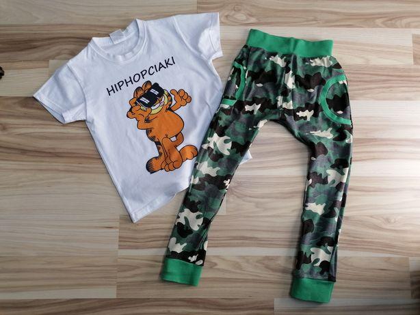 Strój do hip hopa, t-shirt, spodnie baggy 4-6 lat