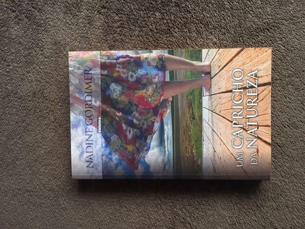 """Livro """"Um capricho da natureza"""" de Nadine Gordimer - Edição limitada"""