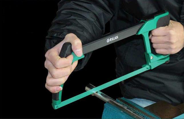Новая Пила ножовка LAOA алюминиевая с резиновой ручкой