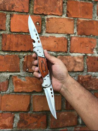 РАСПРОДАЖА/Нож на 2 лезвия/складной/раскладной/автоматический