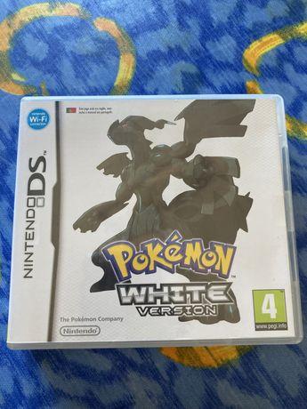 Pokémon White Version com 3 shiny + caixa + manual de instruções