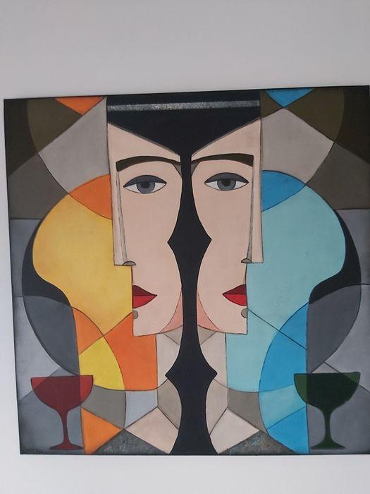 Wyjątkowy obraz*60x60*akryl na płótnie* Józefosław - image 1