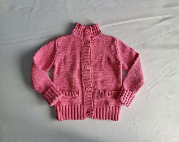 Rozm. 116 sweter z golfem różowy Gap