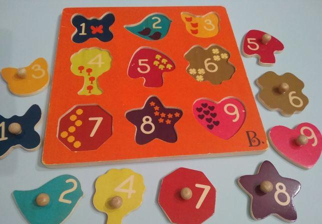 B.Toys puzzle drewniane
