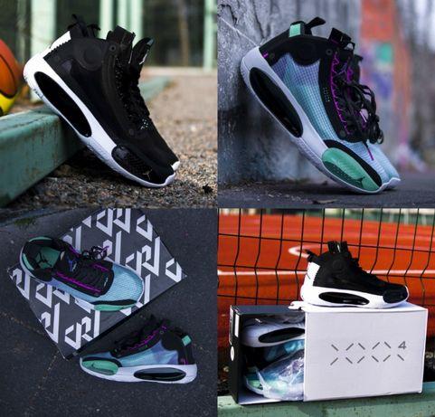 Мужские кроссовки Nike Air Jordan XXXIV Eclipse Blue Void 41-45 Топ