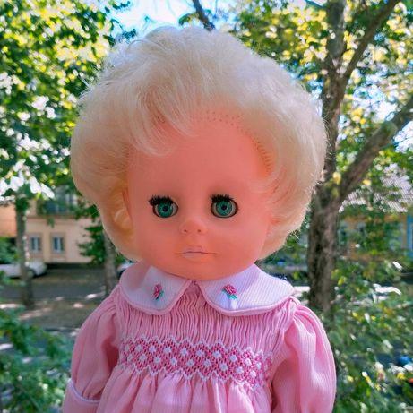 Кукла блондинка с бирюзовыми глазами лялька