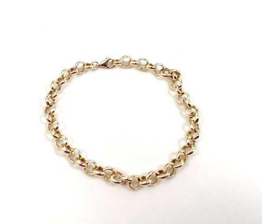 Złota bransoletka 585/W:4,69/R:18Cm
