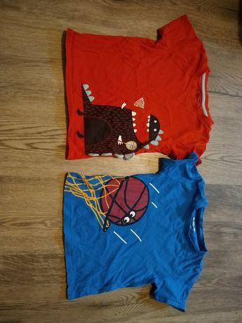Koszulki dla chłopca/ t-shirt/ bluzki/ zestaw 104