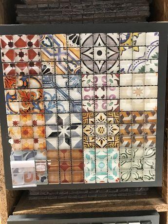 OBI Mozaika szkl. Retro Mix 30x30cm obniżka z 59,99zł na 29,99zł