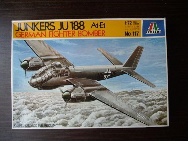 Kit Modelismo avião Junkers Ju 188 da Italeri à escala 1/72