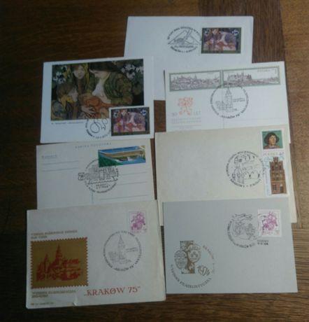 Stare okolicznościowe stemple pocztowe z Krakowa