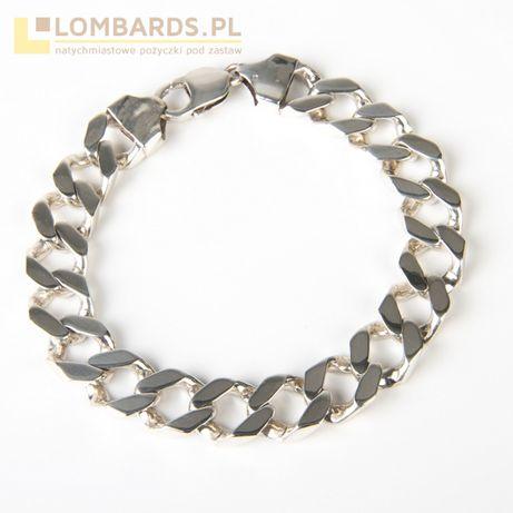 srebrna bransoleta p. 925 22,5cm