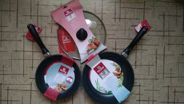 Сковорода Rondell + крышка Rondell новые