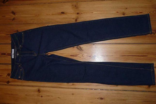 Spodnie Rurki jeansy CUBUS Friday Denim rozm 36 Granatowe