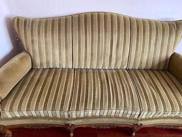 Meble wypoczynkowe, antyk w stylu Ludwikowskim, sofa, fotele.