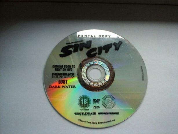 Sin City DVD miasto grzechu alba willis rourke 2005 Eng.