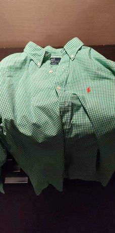 Koszula Ralph Lauren zielona