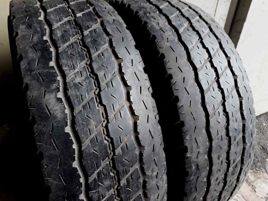Шины резина б/у. Лето! Цешка 215/70R15C Bridgestone Duravis Киев - изображение 1