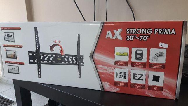 UCHWYT TV AX STRONG PRIMA 30-70 Cali, wieszak regulacja VESA LCD LED