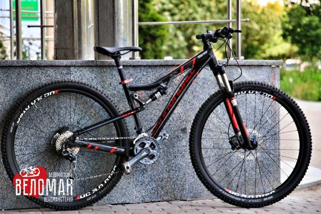 Двухподвесный горный велосипед Cannondale Rush 29. Cube Giant Scott GT