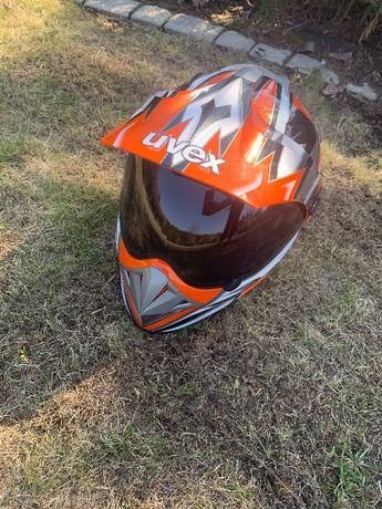 Kask UVEX Enduro motocross motocyklowy NIEUŻYWANY rozmiar M